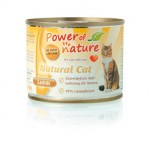 POWER OF NATURE Natural Cat - jagnięcina  5 x 200g
