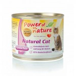 POWER OF NATURE Natural Cat - królik  5 x 200g