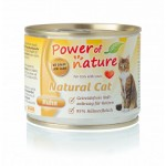 POWER OF NATURE Natural Cat - kurczak 5 x 200g