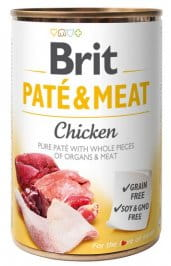 Brit Pate & Meat Dog Chicken  400 g