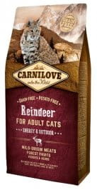 Carnilove Cat Reindeer Energy & Outdoor - renifer 6 kg