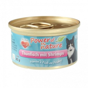 Power of Nature Haven's Fish on Friday – tuńczyk z krewetkami 85 g